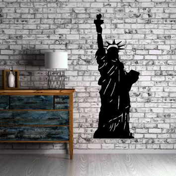 Statue of Liberty New York City Decor Wall Art Mural Vinyl Decal Sticker Unique Gift M458