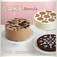 Book of Cake Stencils | PLASTICLAND