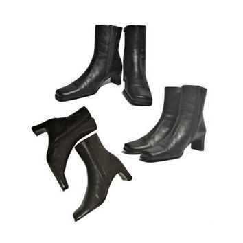 Women's Boots, ankle boots, black boots, leather boots, high heel boots, Brazilian boots