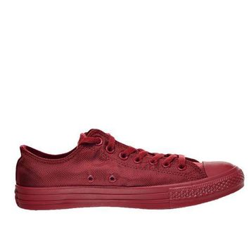 Converse Chuck Taylor Nylon Mono Low Days Ahead  Red Low Top Sneaker