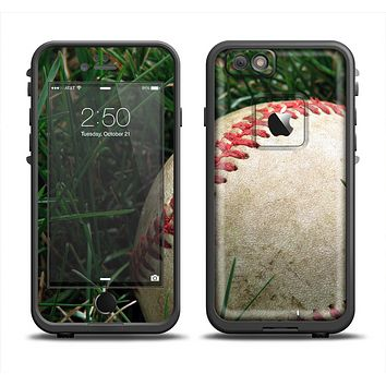 The Grunge Worn Baseball Apple iPhone 6 LifeProof Fre Case Skin Set