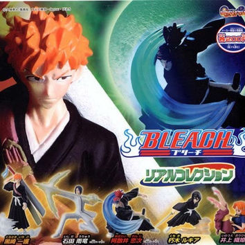 Bandai Bleach Gashapon Real Deflection Part 1 5 Trading Collection Figure Set