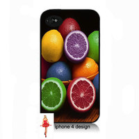 Unique Lemon  Design Iphone 4/4s case, Iphone case, Iphone 4s case, Iphone 4 cover, i phone case, i phone 4s case