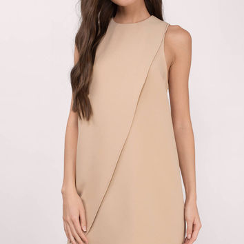 Magdalena Overlay Shift Dress