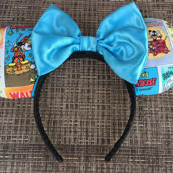 Classic comics book Mickey Ears, Comics book Disney ears
