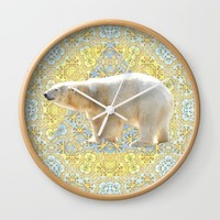 Polar Wall Clock by Lisa Argyropoulos