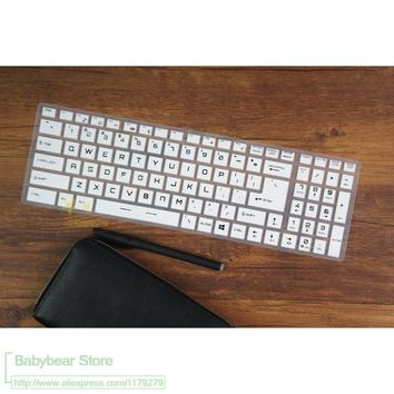 17.3 15.6 Laptop Keyboard cover Protector for MSI GL72 GL72M GP72VR GL62m GS63VR GP 60 GS60 70 GE GT 62 72 GP62 GP72 GL62 GT62