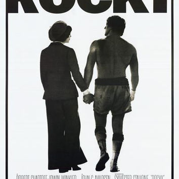 Rocky Balboa and Adrian Movie Poster 24x36