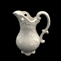 Napco Ceramic Pitcher, Napco China, Napcoware Japan, White Pitcher