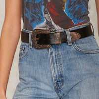 Nash Vegan Leather Belt