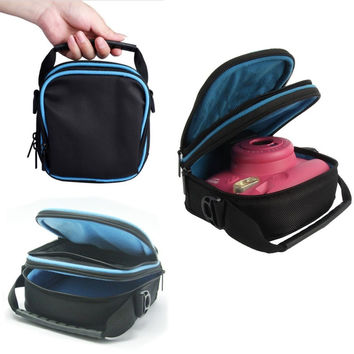 EVA Case Protects and Stores For Fuji Fujifilm Instax mini 8 7s 25 Instant Film Camera Soft Carry Storage Travel Case Bag