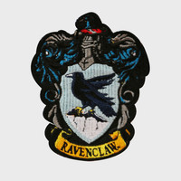 Ravenclaw Embroidered Crest Patch