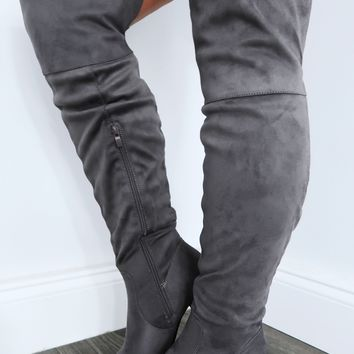 Restock: Where It All Began Boots: Grey