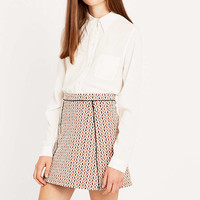 Urban Outfitters Spotted Jacquard Pelmet Skirt - Urban Outfitters