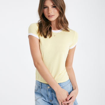 Essential Super Soft Baby Ringer Tee | Wet Seal