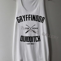 Gryffindor Shirt Quidditch Harry Potter Shirts Tank Top Tunic TShirt T Shirt Singlet - Size S M L