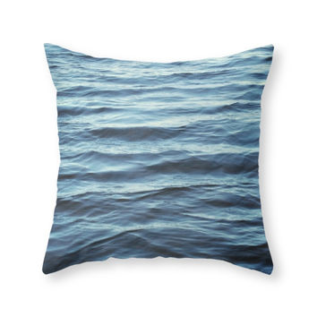 Society6 Water Throw Pillow