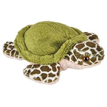 Wildlife Tree 3.5 Inch Sea Turtle Mini Small Stuffed Animals Bulk Bundle of Ocean Animal Toys or Sea Party Favors for Kids Pack of 12
