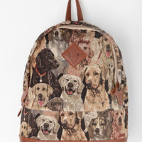 Urban Outfitters - Kimchi Blue Canine Collage Backpack