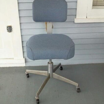 Sale, Vintage Mid Century Modern, Steelcase, Bassick Steno, Desk Chair, Office Chair