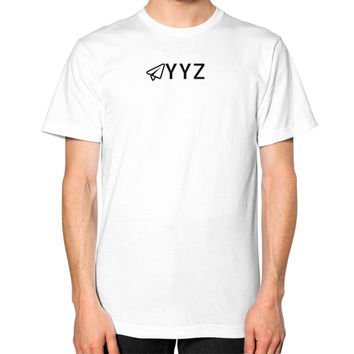 YYZ Unisex T-Shirt (on man)