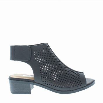 Cut Out Kids Heel Sandal