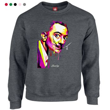 Pop Art Salvador Crewneck Sweatshirt