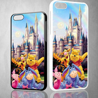 Winnie The Pooh disney Z0060 iPhone 4S 5S 5C 6 6Plus, iPod 4 5, LG G2 G3, Sony Z2 Case