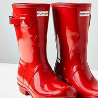 Hunter Original Short Gloss Rain Boot - Urban Outfitters