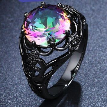 Soul's Fire Engagement Ring