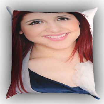 ariana grande beautiful X0250 Zippered Pillows  Covers 16x16, 18x18, 20x20 Inches