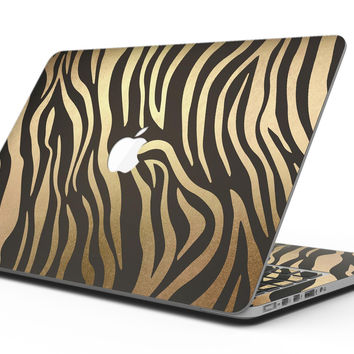 Dark Gold Flaked Animal v6 - MacBook Pro with Retina Display Full-Coverage Skin Kit