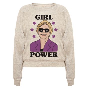 GIRL POWER ELIZABETH WARREN PULLOVERS