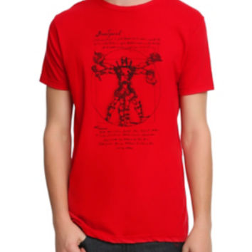 Marvel Deadpool Vitruvian T-Shirt