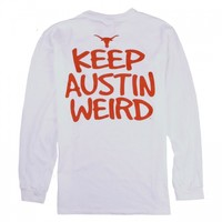 Tyler's :: KEEP AUSTIN WEIRD :: MENS :: LONG SLEEVES :: LNGHRN WEIRD L/S