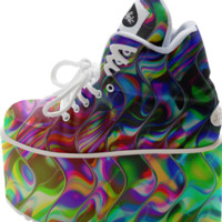 KANIKA PSYCHEDELIC REFLECTION Buffalo Platform created by Webgrrl | Print All Over Me