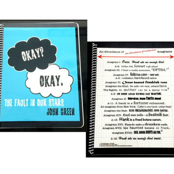 TFIOS or Katherines Full-sized Notebook