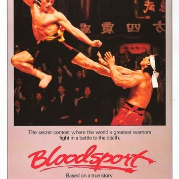 Bloodsport Movie Poster 24x36