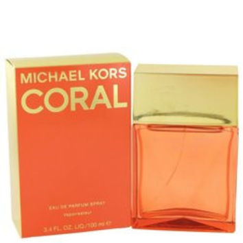 Michael Kors Coral By Michael Kors Eau De Parfum Spray 3.4 Oz (pack of 1 Ea)