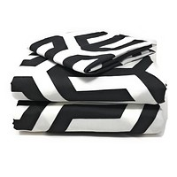 Tache Sophisticated Condo Monochrome Fitted Sheet (2141FIT)
