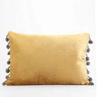 Plum & Bow Long Velvet Pillow
