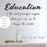 Education Wall Decal Sticker Art Decor Bedroom Design Mural Science learn educate