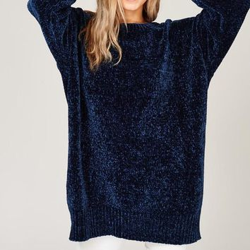 Oversized Chenille Sweater (Multiple Colors Available)