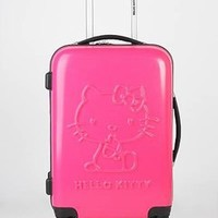 hard case hello kitty swivel suitcase $260.00 in FUCH HTPNK SILVER - Hello Kitty | GoJane.com