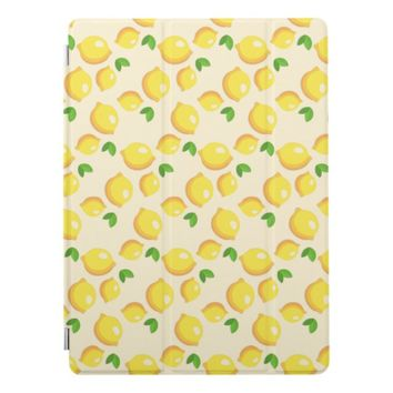 Lemon Pattern Apple iPad Pro Cover