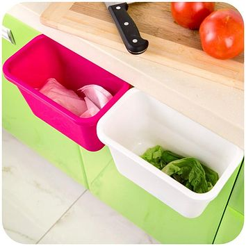 Kitchen -  Plastic Hanging Trash Bin