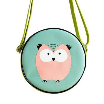 So Cute Crossbody Messenger Bag  Perfect For ID/Cellphone/Keys and More   Owl