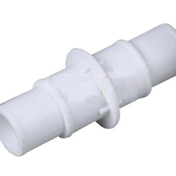"4.75"" White Swimming Pool or Spa Vacuum Hose Connector"