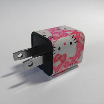 Hello Kitty Pink iPhone USB Charger