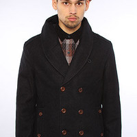The Owen Peacoat in Navy